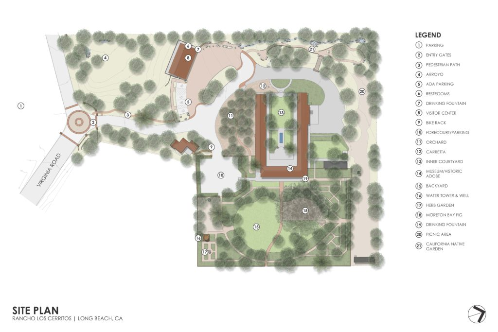Rancho Los Cerritos - Site Plan
