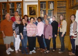 House Docents in Library