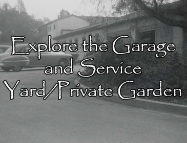 Explore the Garage and Service Yard-Private Garden