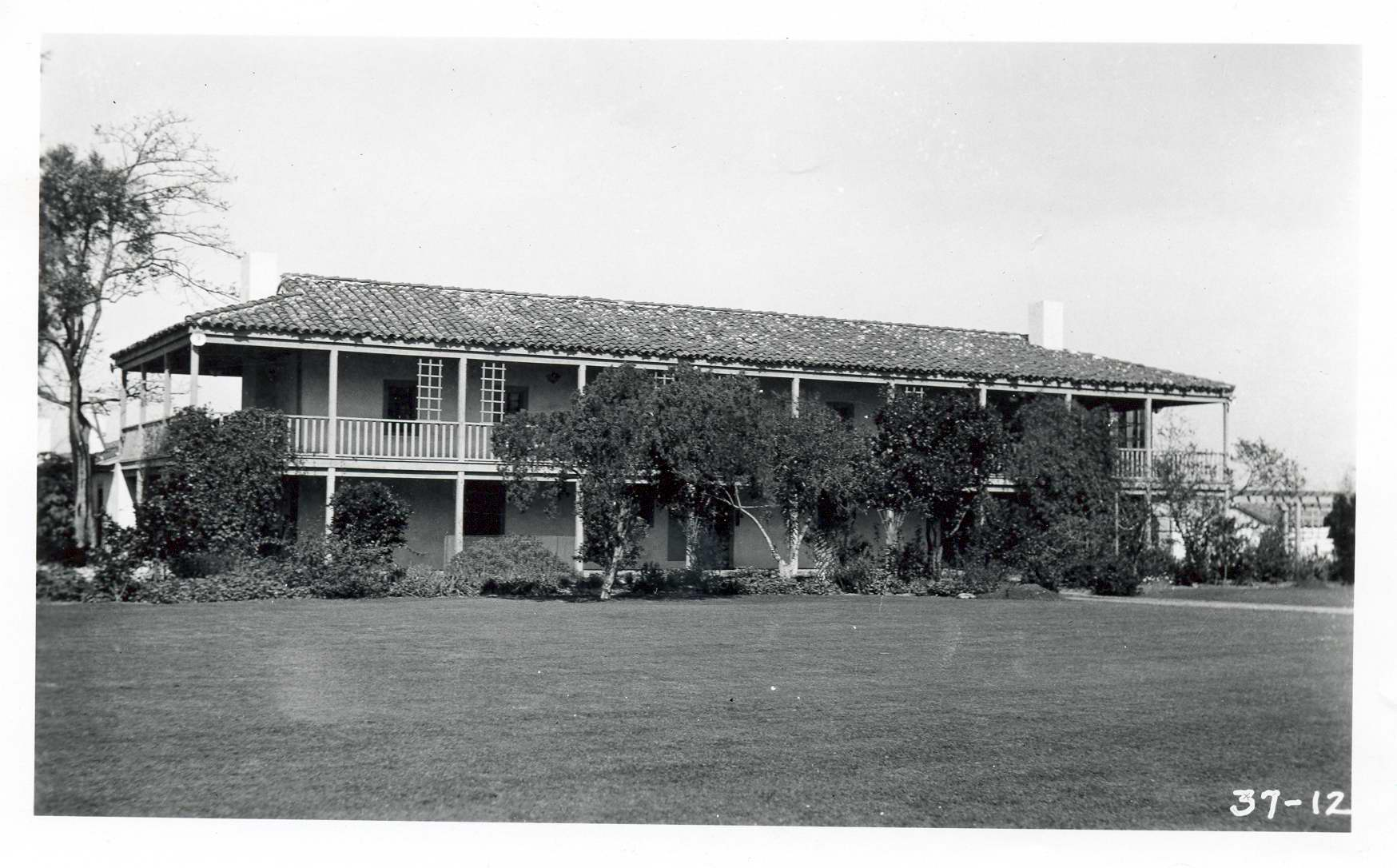 Rancho in the 1930s