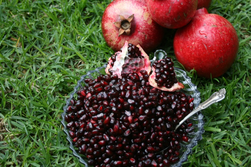 Pomegranate with Rind