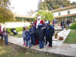 Santa at the Rancho