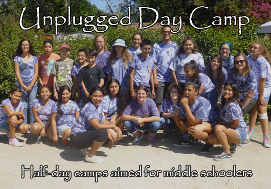 Unplugged Day Camp