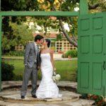 Courtyard Wedding by Gavin Wade