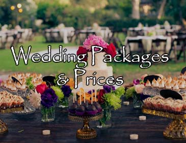 Wedding Packages and Pricing
