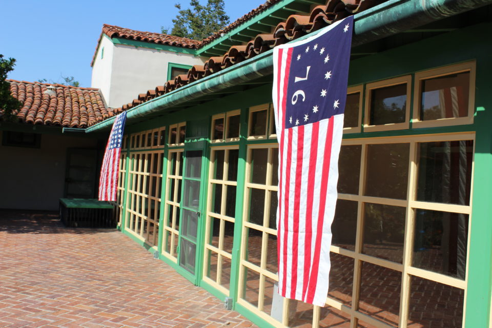 RLC decorated for July 4th