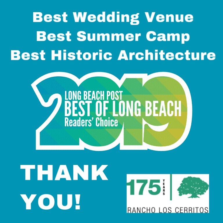 RLC takes home three LB Post Best of LB 2019 Awards in: Best Wedding Venue, Best Summer Camp, and Best Historic Architecture.