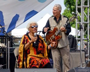 The Bernie Pearl Blues Band featuring Barbara Morrison will be at Rancho Los Cerritos July 28, 2019.
