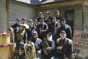 The Band of the California Battalion -