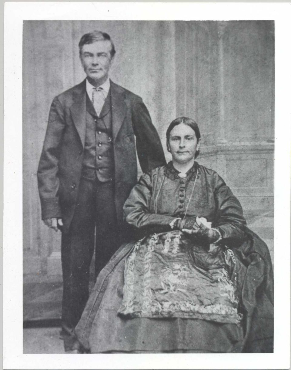 FPF Temple with his wife Antonia Margarita Workman de Temple.