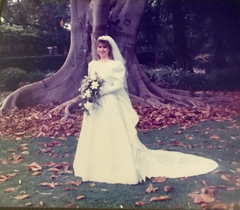 Kirsten Dominguez reminisces about her wedding day 30 years ago today (June 3, 1989) in honor of RLC's 175th anniversary in 2019.