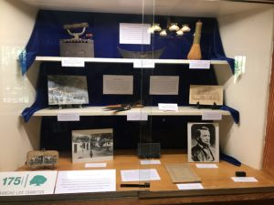 Rancho Los Cerritos unveils its latest special exhibit in the library case in commemoration of the 175th anniversary of the adobe's construction (built in 1844) and specifically the sheep ranching years (1866-1929).