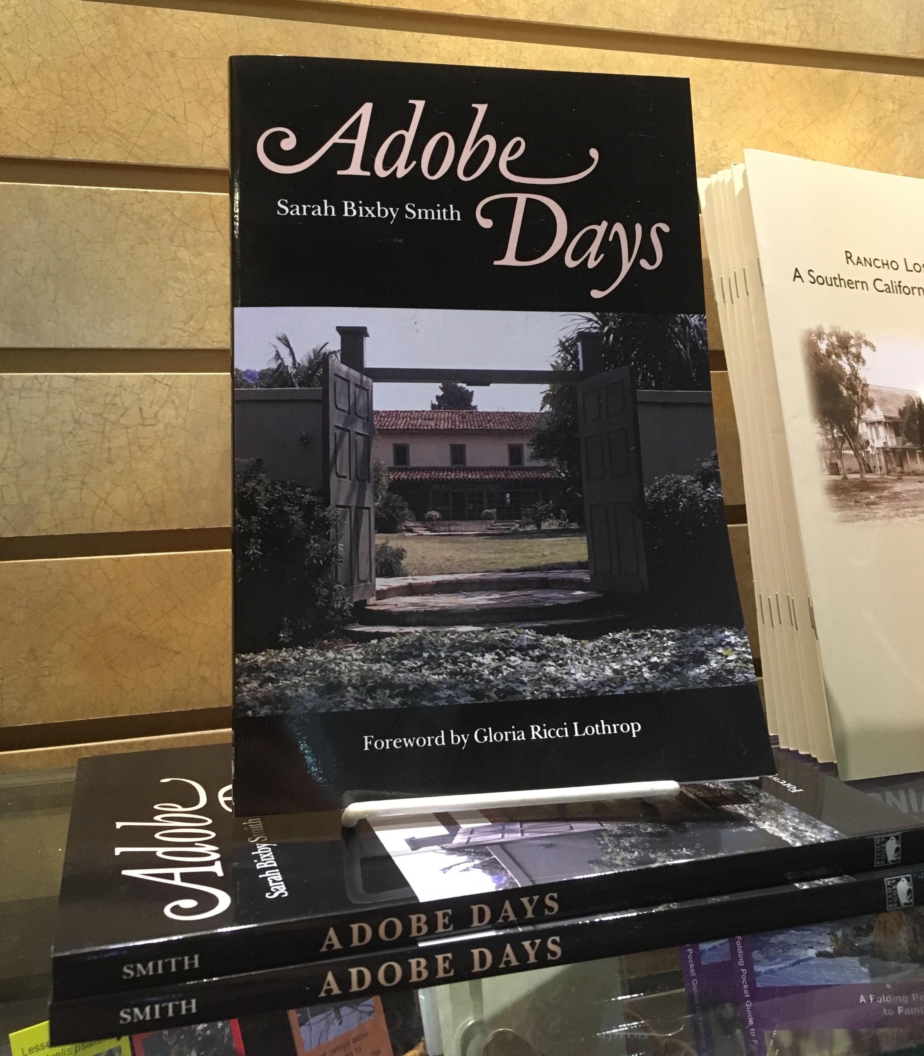 Adobe Days - book by Sarah Bixby
