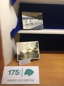 Photos from the 1930s Bixby remodel special exhibit in the Rancho Los Cerritos library, on display from October through early December 2019.