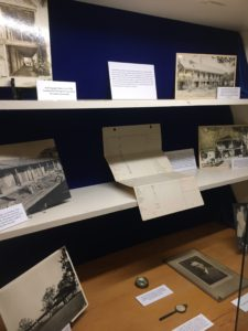 On display from October through Early December 2019 is the latest special exhibit in the library case in commemoration of the 175th anniversary of the adobe's construction (built in 1844) and specifically the 1930s Bixby remodel.