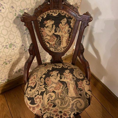 Renaissance Revival-style Parlor Chair