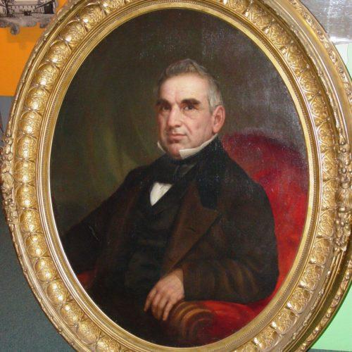 1856 Oil Portraits of  John Temple and Rafaela Cota de Temple