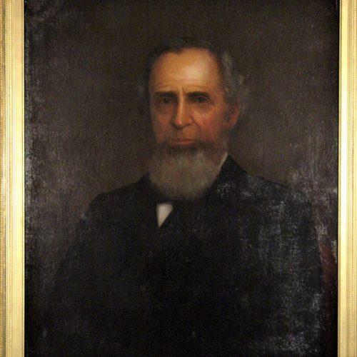Painting of Rev. George W. Hathaway