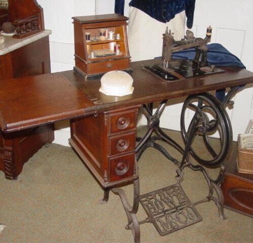 1872 Howe Treadle Sewing Machine