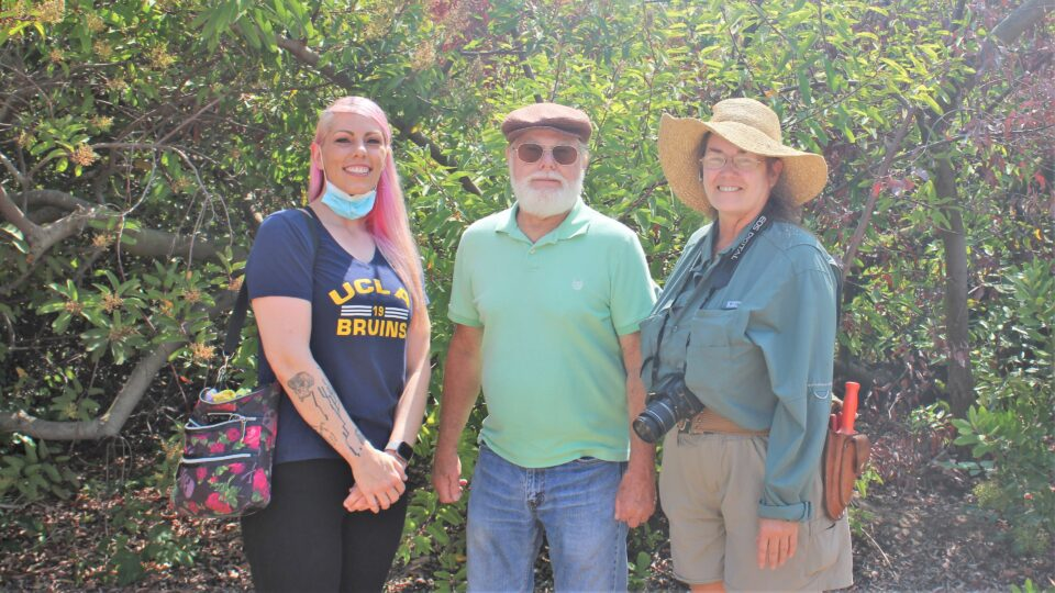 Eileen Skalky, Steve Iverson, and Marie BarnIdge McIntyre